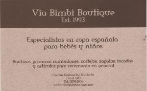 via bimbi boutique 001